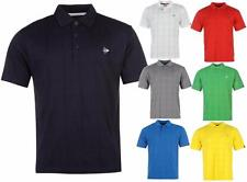 Dunlop Check Golf Polo T Shirt Mens Sport Tennis ~Sizes XS S M L XL 2XL 3XL 4XL