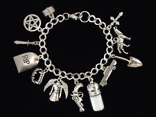 SUPERNATURAL CHARM BRACELET 12TH, 13TH, 16TH, 18TH,21ST BIRTHDAY GIFT.GIFT BOXED