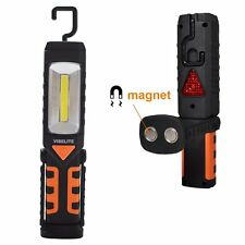 COB Magnetic Camping Work Light Emergency Inspection Ultra-Bright Flashlight