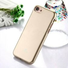 Genuine MERCURY Goospery Metallic Gold Soft Jelly Case Cover For iPhone 6/6s