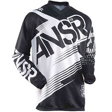 Answer NEW Mx Gear Syncron Black Kids Motocross Dirt Bike BMX MTB Jersey
