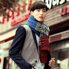 2016 Fall Winter Fashion Color Blend Warm Scarf Men Unisex Cashmere Scarf Gifts