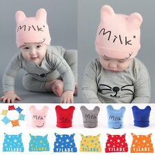 Lovely Baby Girl Boy Toddler Infant Kids Cotton Beanie Hat Stretchy Knitted Cap