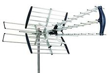 Esky 180mile 080P Outdoor Antenna Digital HD TV UHF/VHF FM Built-in Amplifier