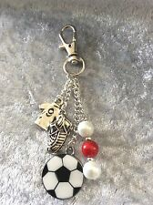 Football School Bag Charm - EPL Premiership Teams (Stocking Filler - Gift)