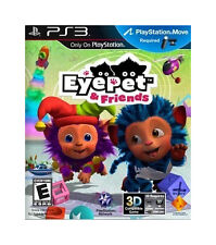 New Sealed EyePet and Friends PS3 (Playstation Move Required)