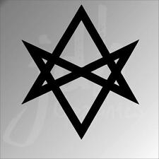Thelema sigil vinyl decal bumper sticker religion Occult Aleister Crowley