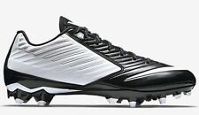 NEW Men NIKE Vapor Speed Low TD Football Rugby Cleats White Black $100