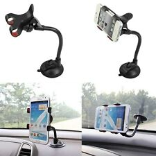 Universal Car Windshield Mount Holder Cradle Bracket Stand for iPhone Phone GPS