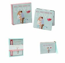 All You Need Is Love Compact Mirror Coin Purse Notebook Pen