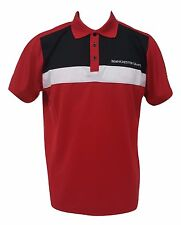 Manchester United Mens Red Polo Shirt Made by Rhinox NWT Official Licensed S,M,L