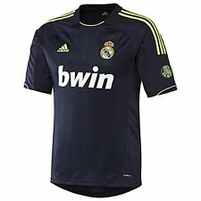 """REAL MADRID FC AUTHENTIC adidas SUPPORTER AWAY JERSEY 12/13 """"SIZE L"""" """"110 YEARS"""""""