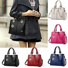 Women Leather Handbag Shoulder Lady Cross Body Bag Tote Messenger Satchel Purse