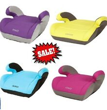 5 COLORS Cosco Topside Booster Car Seat  40-100 lbs Auto Saftey Toddler Seats