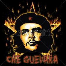 Che Guevara Revolution Burning Star Icon Hero Disobey Occupy T-Shirt Tee