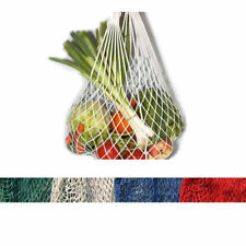 Eco Cotton Mesh Net Shopping Bag Turtle Bag Fruit Grocery Kitchen Storage Tote