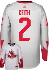 Duncan Keith Team Canada World Cup Of Hockey Adidas Premier Away Jersey
