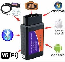 1*ELM327 OBD2 Car Diagnostic Scanner CAN-BUS Bluetooth for Mobile ANDROID Car~Q