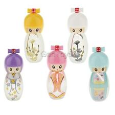 Reusable 20ml Travel China-dolls Glass Perfume Spray Bottle - 5 Colors Available