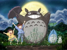 My Neighbor Totoro Amazing Tonari no Anime Art Huge Giant Wall Print POSTER