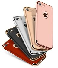 Premium Case Cover & Tempered Glass Screen Protector For iPhone 7 / 7 Plus