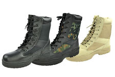 Outdoor Boots Combat boots black beige US Army Boots combat boots 37 - 47