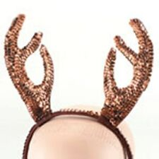 Sequin Reindeer Antlers - Christmas Fancy Dress