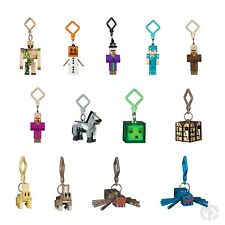 Series 3 Minecraft 3D Keyring Keychain Belt Bag Hangers Mine Craft toy Figures