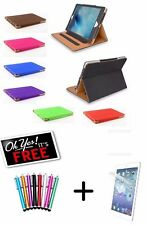 Genuine TAN Stand Smart Magnetic Leather Case Cover For Apple iPad Air & Air 2