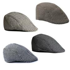 Adult Fashion Gift Flat Driver Cap Houndstooth Newsboy Cabbie Gatsby Beret Hats