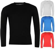Campri Thermal Baselayer Top Mens T Shirt Stretch Fit Long Sleeves ~Sizes S-4XL