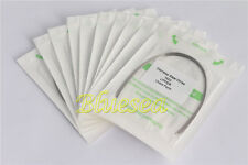 100 PCS Orthodontic Dental Stainless Steel Ovoid Rectangular Arch Wires SALE