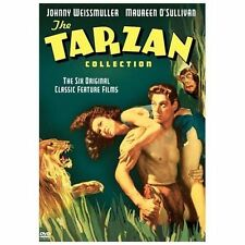 The Tarzan Collection Starring Johnny Weissmuller (DVD, 2004, 4-Disc Set) RARE!