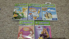 LeapFrog Leapster 2 Game: Tangled, Mr.Pencil, Fairies, Pixar Up etc - NEW