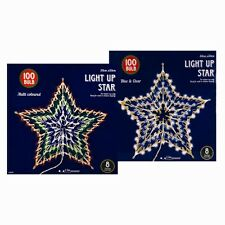 100 Bulb Star Indoor Festive Christmas Light Decoration new
