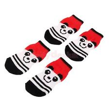 Bear Pattern Pet Dog Puppy Cat Non-slip Socks with Cute Paw Prints Size S--XL