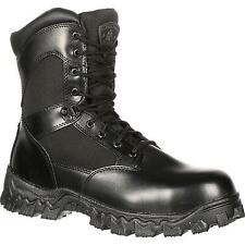 Rocky Alphaforce Mens Waterproof Side Zip Composite Toe Safety Tactical Boots