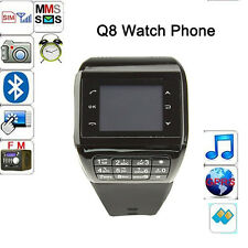 Q8 2-in-1 GSM Dual Sim Cards Dual Standy Mobile Phone Sprots Wrisband Smarwatch