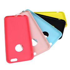 Candy Color Soft Silicon Cover Silica Gel Phone Back Case for Apple iPhone 6/6S