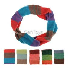 High Quality Warm Women Colorful Knitting Wool Neck Circle Soft Snood Scarf Wrap