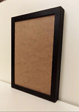 Solid Wood - DEEP Photo/Picture Frames in DARK MAHOGANY Finish - WALL HANGING