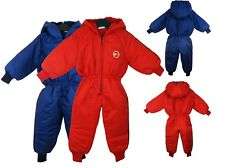 CHILDS WATERPROOF RAINSUIT BOYS GIRLS ALL IN ONE SUIT KIDS CHILDREN 9-24MONTHS