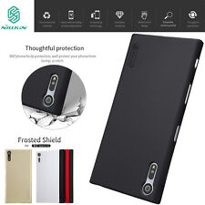 Nillkin Matte Frosted Shield Shell Case Cover + Screen Protector For Sony Xperia