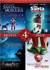 4 Film Family Holiday Movie Collection (Santa With Muscles / The Santa Incide...