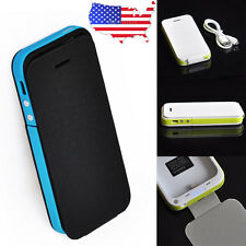 3200mAh Backup Power bank External Charger Cover Battery Case for iphone 5 5S