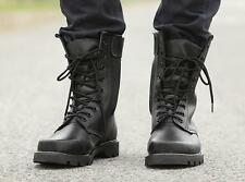 Mens Military boots combat tactical hiking outdoor Special forces#plus