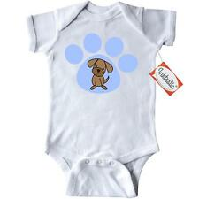 Inktastic Dog Lover Paw Print Pet Infant Creeper puppy cute gift animals pets