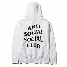 Fashion Anti Social Social Club Hoodie Hooded Kanye Sweatshirts Hip Hop Lover