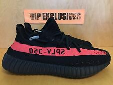 Adidas Yeezy 350 V2 Boost Low SPLY Kanye West Core Black Red BY9612 SHIPPING NOW