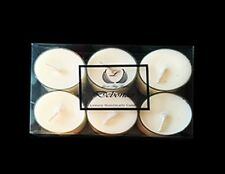 Debonair cologne men's scented Tea lights - Hand poured with eco soya wax